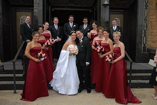 5 Bridesmaids 3 Groomsmen Does Anyone Have Pics