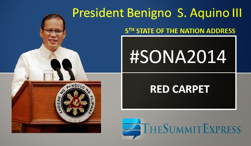 IN PHOTOS: SONA 2014 red carpet fashion, dress and attires