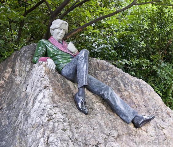 Oscar Wilde - cemitério Père Lachaise