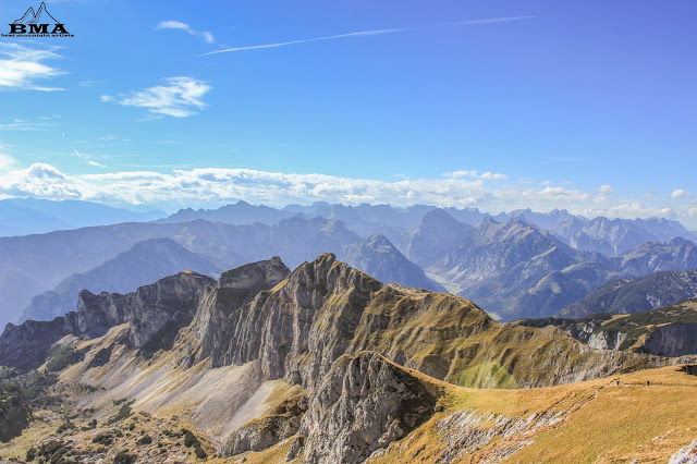 wandern rofan - erfurter hütte - hochiss klettersteig - wanderung