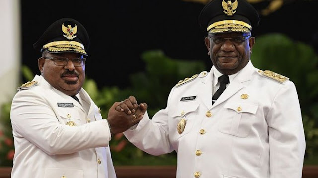 Gubernur Papua Kembali Dorong RUU Otsus Plus