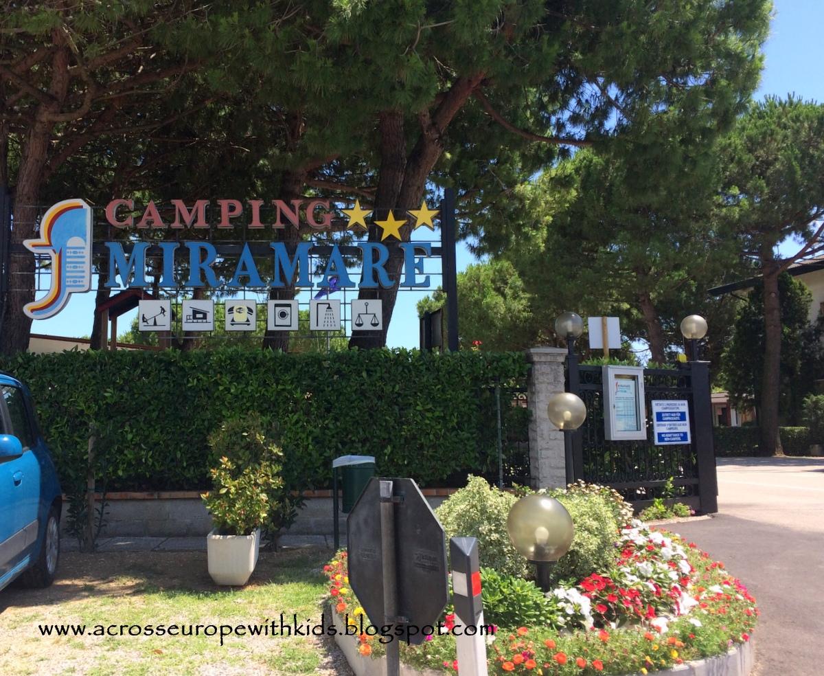 kemping w pobliżu Wenecji: Camping Miramare w Punta Sabbioni