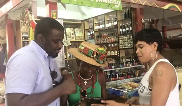 john dumelo in the caribbean