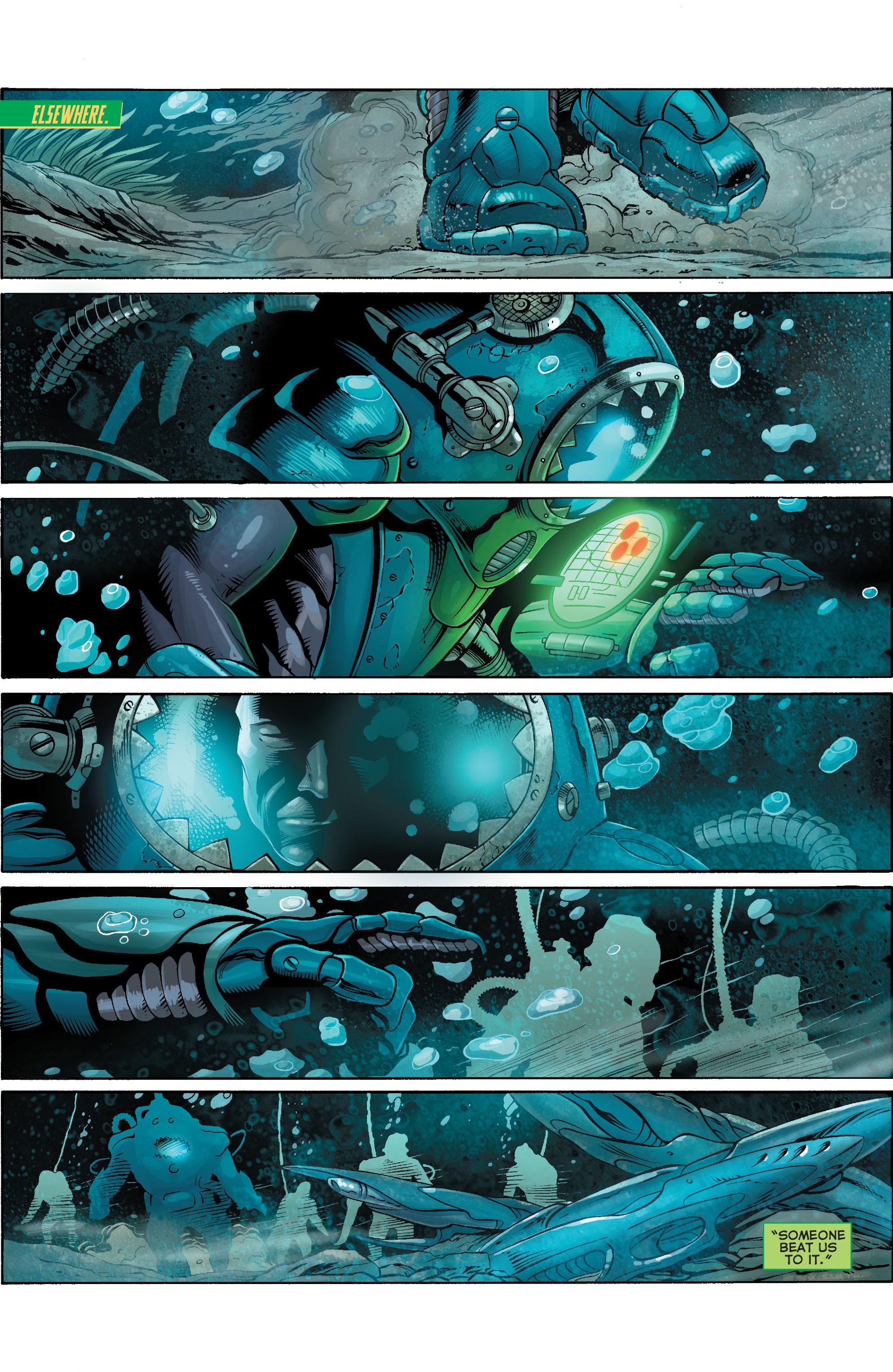 Read online Aquaman (2011) comic -  Issue #17 - 12