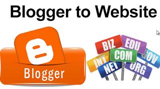 Paket Web Custom Blogger