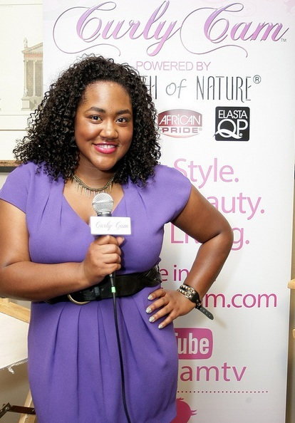 ALL NAPTURAL: Curly Cam TV Debut at 2012 Essence Music ...