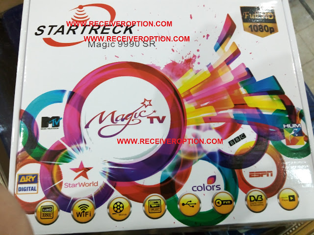HOW TO CONNECT WIFI IN STARTRECK MAGIC 9990 SR HD RECEIVER