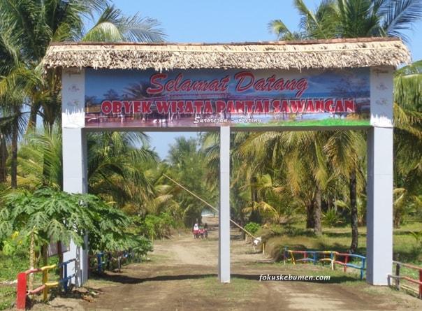 Pantai Sawangan Puring Kebumen