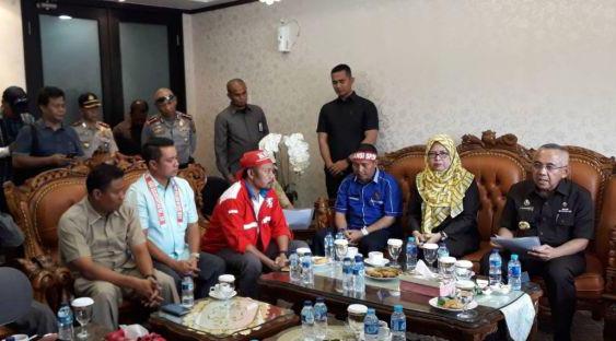 Soal Demo Akbar Buruh PT RAPP, Gubri: Ini sejalan dengan keinginan Pemprov