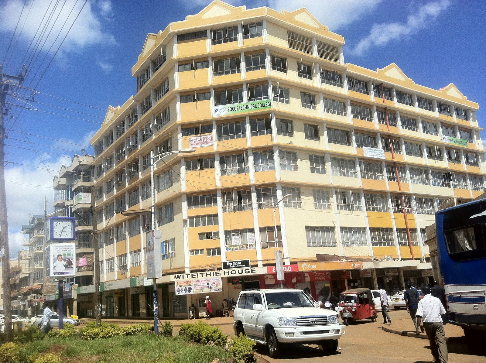 Image result for picture of Thika town