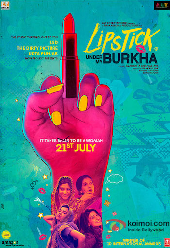 Lipstick Under My Burkha 2017 pDVDRip x264 Hindi 700MB