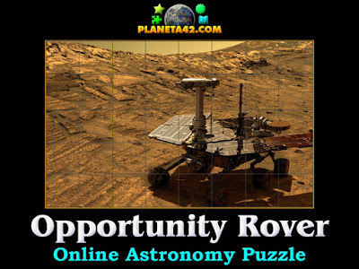 Opportunity Mars rover Puzzle