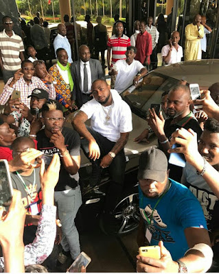 Photos : Davido shuts down Mali