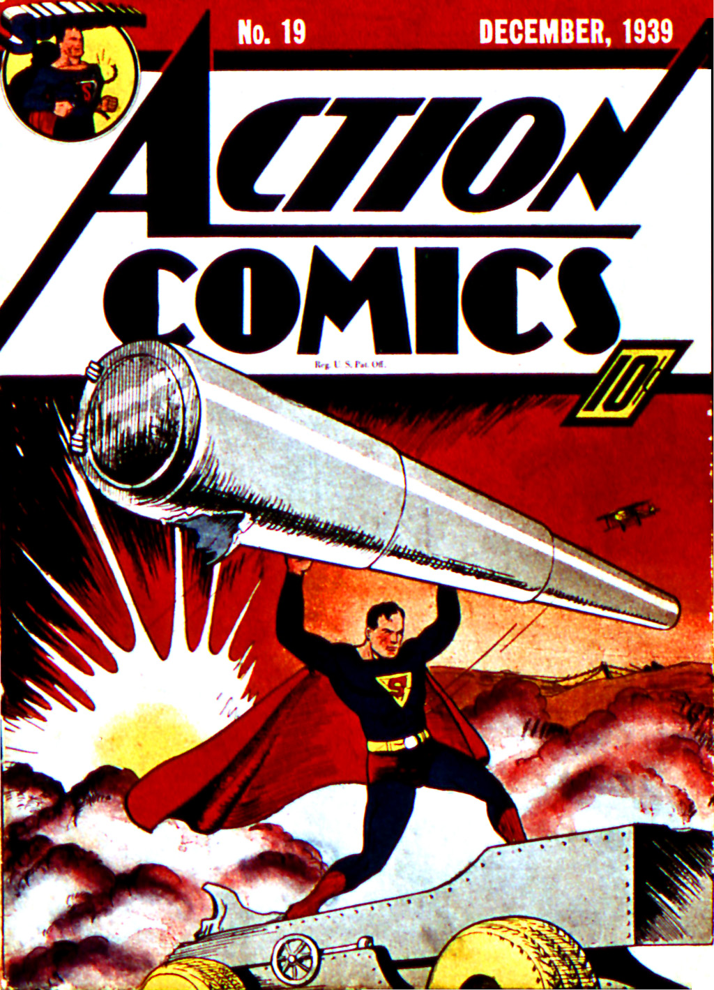 Read online Action Comics (1938) comic -  Issue #19 - 1