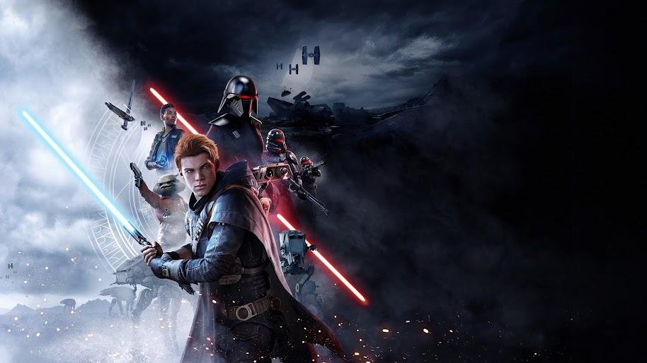 Star Wars Jedi Fallen Order Cal Kestis Characters 4k