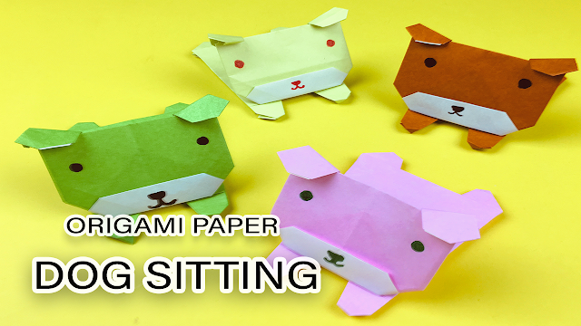 How to Make an Origami Dog Face: 5 Steps (with Pictures) - wikiHow | 360x640