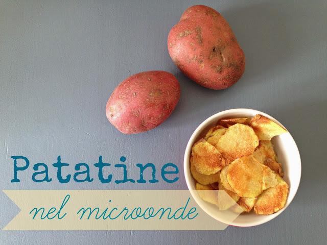 patatine fai da te nel microonde