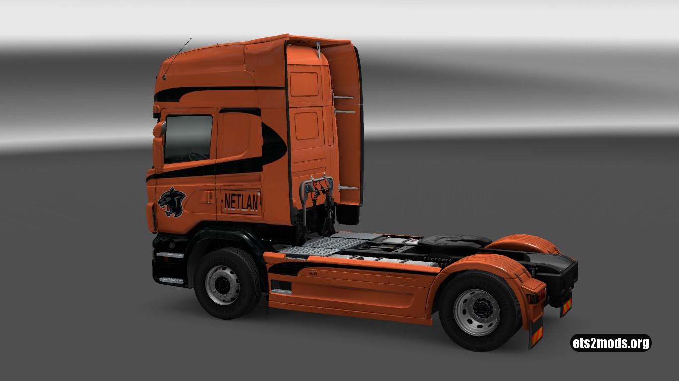 Netlan Skin for Scania R