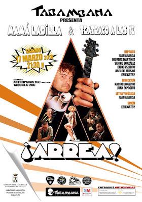 """MAMÁ LADILLA Y EL MUSICAL """"¡ARREA!"""" EN EL AUDITORIO MUNICIPAL DE ALBACETE"""