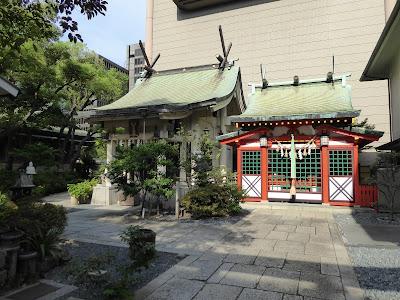 坐摩神社 稲荷神社 火防陶器神社