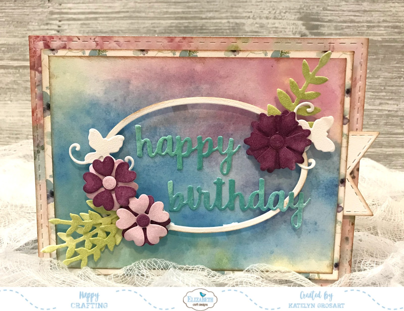 A Creative Journey Happy Birthday Els Blog Hop