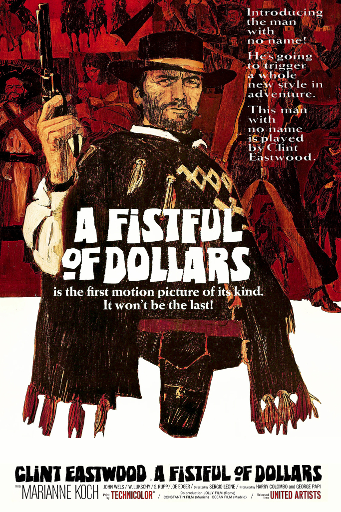 A Fistful Of Dollars 1964 Dual Audio Hindi English 720p BluRay Full Movie Free Download