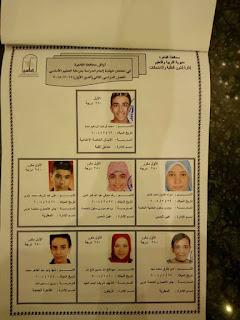 أوائل الشهادة الاعدادية محافظة القاهرة 2018