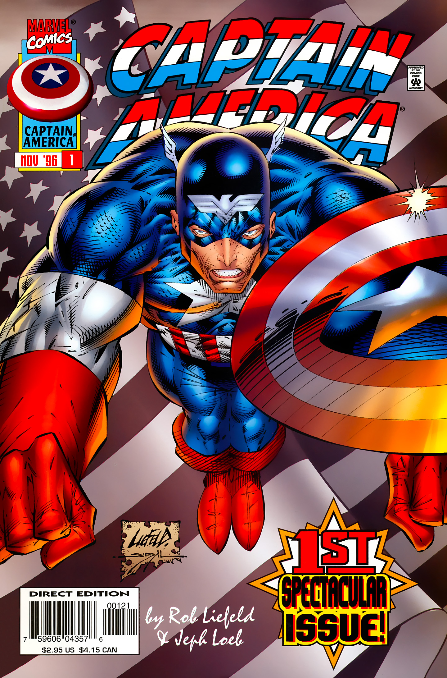 Captain America (1996) Issue #1 #1 - English 1