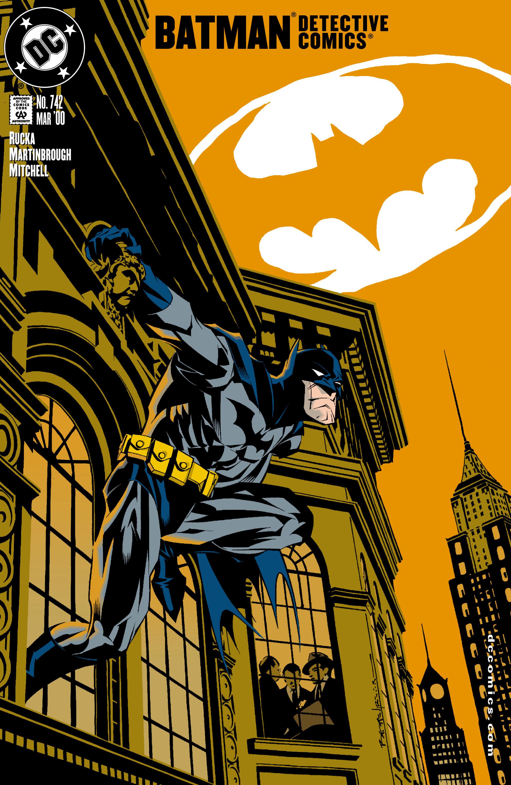 Detective Comics (1937) 742 Page 0