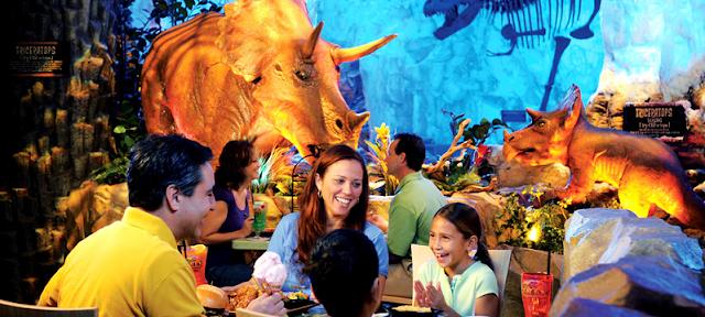 Restaurante dos Dinossauros na Disney