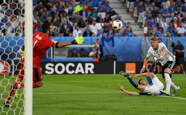 Jerman 0-0 Italia Babak perempat final Euro 2016