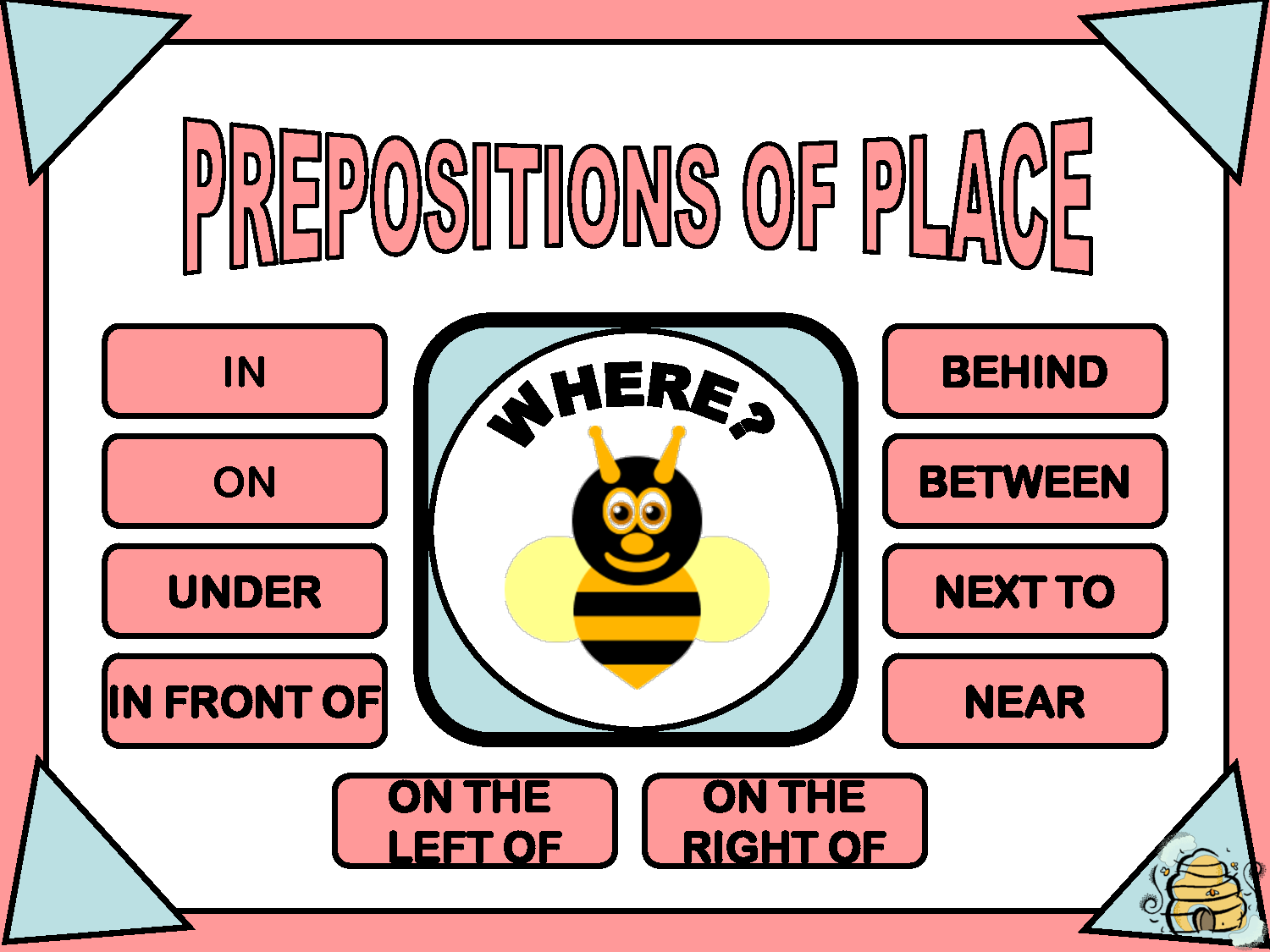 Guadalenglish Prepositions Of Place