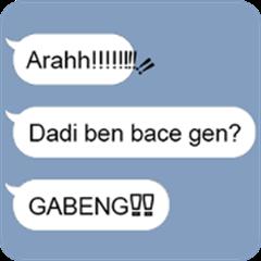 Text Balloons 1 : Basa Bali