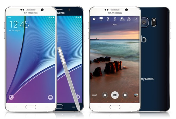 Specs: Samsung Galaxy Note 5 – SM-N920A – AT&T
