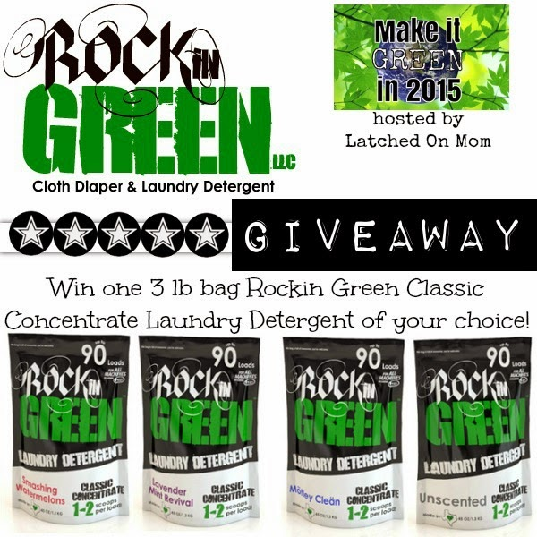 Mommy & Love | Rockin Green Cloth Diaper & Laundry Detergent GIVEAWAY