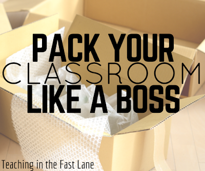Ways to make the end of the year pack up go smoothly and set yourself up for success in the fall! So many good ideas!