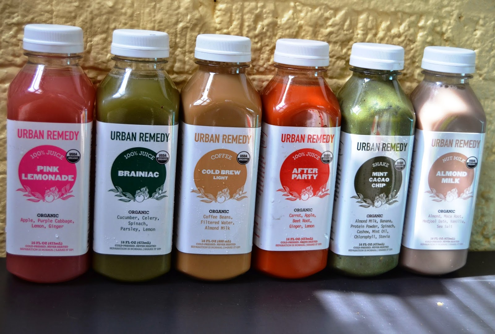 Urban Remedy Organic Juice