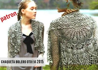 12 Boleros ideales con patrón a crochet-ganchillo