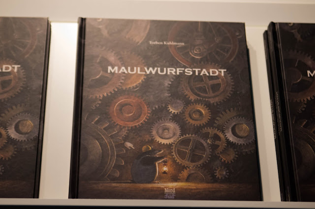 Messe Frankfurt, Buchmesse, 2016, fbm 2016, Torben Kuhlmann, Maulwurfstadt