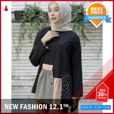 SUP1046A15 Atasan Shan num Top Wanita Murah BMGShop