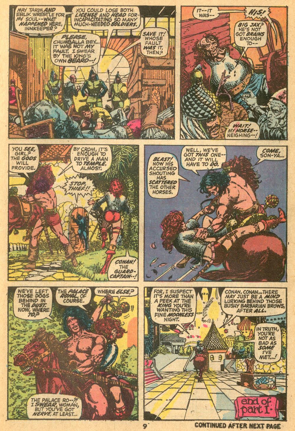 Conan the Barbarian (1970) Issue #24 #36 - English 8