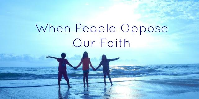 Standing Firm in Jesus despite opposition from the World - Matthew 10:22