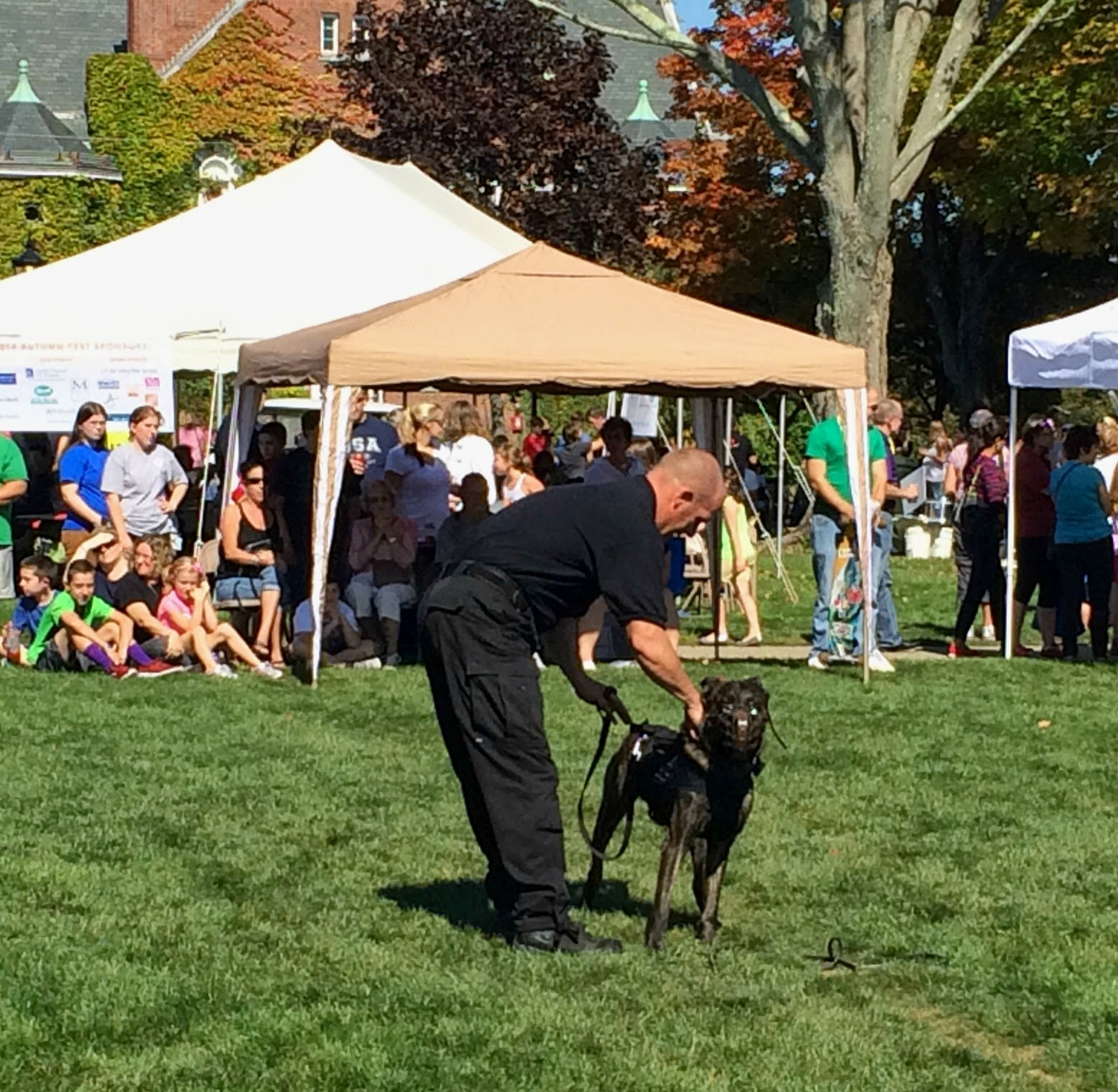 Autumn-fest - New England Fall Events - k-9 demo