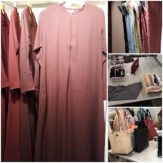 Gamis,tas, kerudung, inner , kaos kaki Di Butik Siti Khadijah