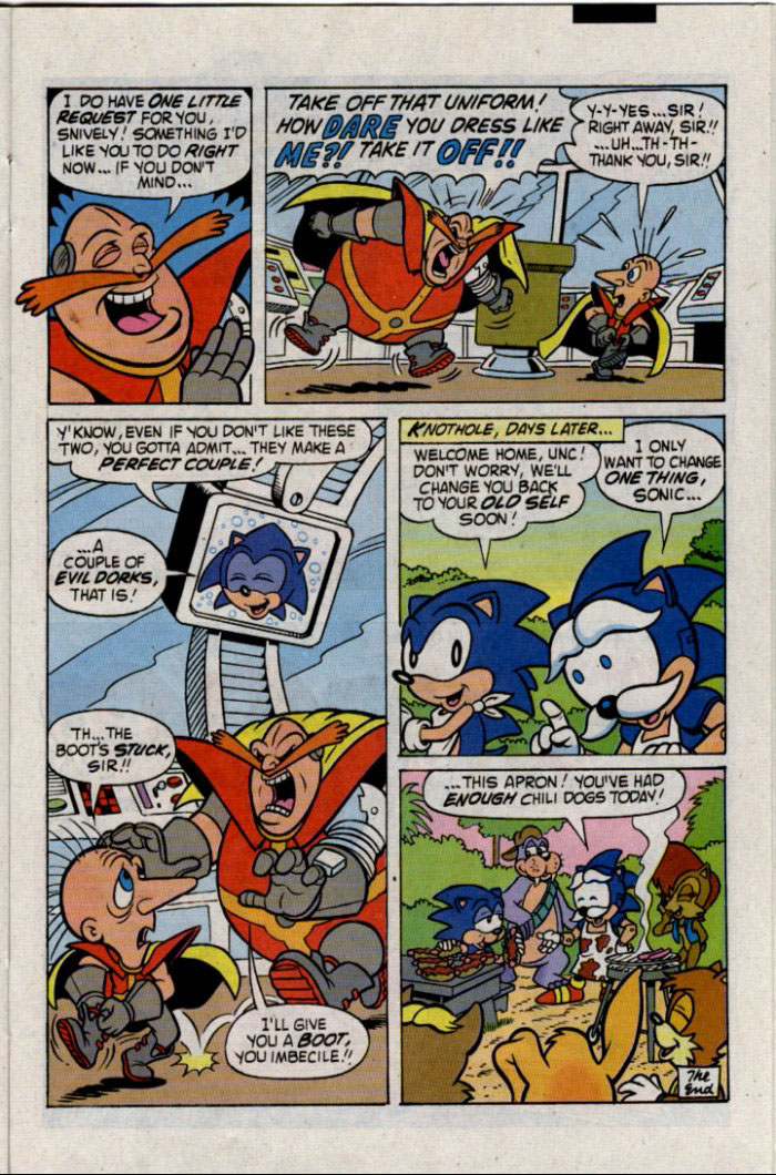 Read online Sonic The Hedgehog comic -  Issue #30 - 18