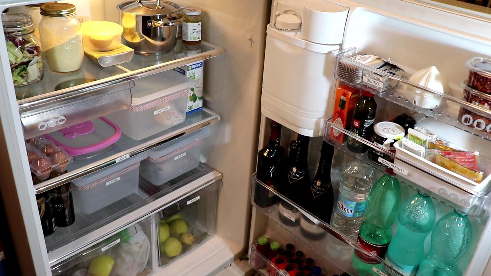 Contenitori Per Organizzare Frigo riorganizzo il mio frigorifero insieme a voi   come