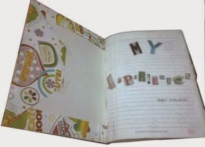 scrapbook sederhana