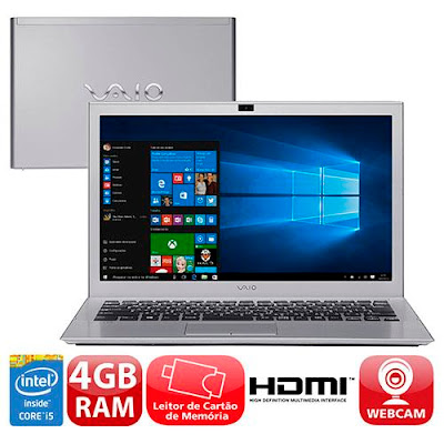 Notebook Vaio Pro 13G - Windows 10