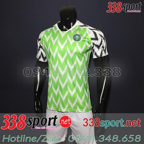 Áo Nigeria Xanh Lá 2018 2019 Sân Nhà