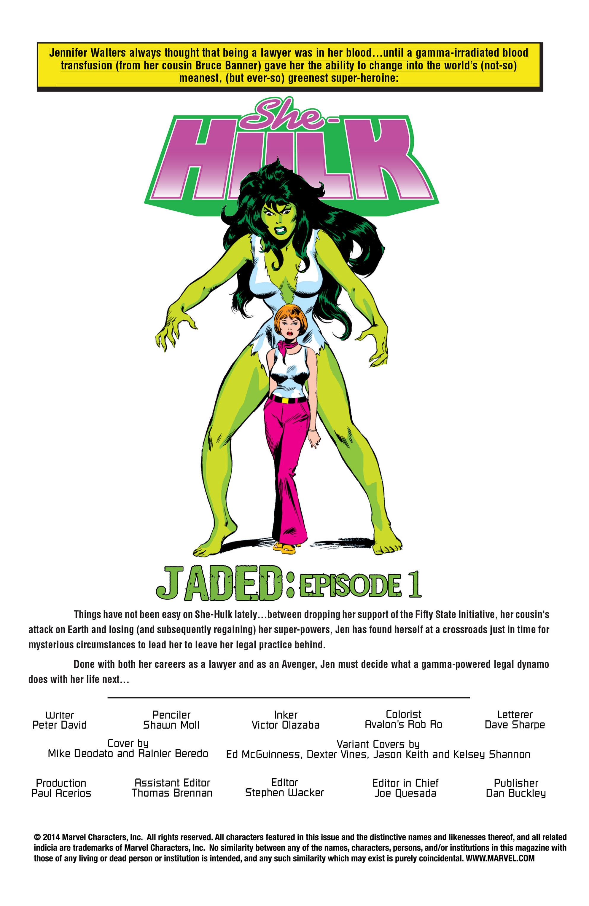 Read online She-Hulk (2005) comic -  Issue #22 - 2